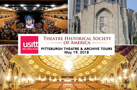 Pittsburgh Theatre & Archives Tour May 19, 2018