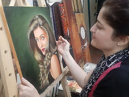 portrait painting classes for Adult in M