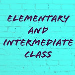elementary classes and intermediate clas
