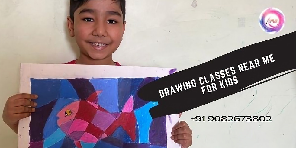 Drawing Classes near me for Kids India Age 5 years to 8 years workshop for kids