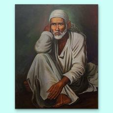Sai Baba Painting