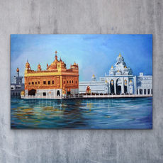 Golden Temple Painting