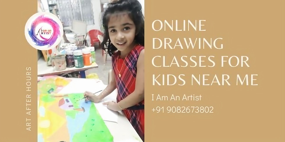Online Drawing Classes for kids near me India Age 5 years to 8 years workshop for kids