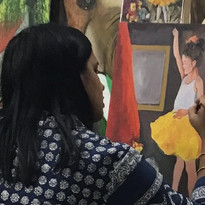 acrylic painting classes for Adult in Mu