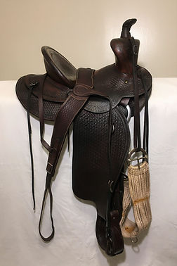 E.C. Burroughs saddle