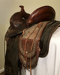 B.H. Koke saddle