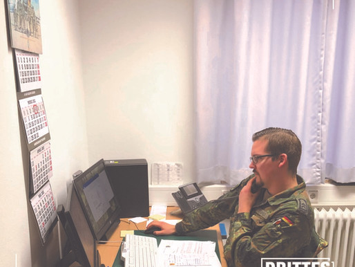 Auch wenn die Zeichen weitgehend auf Stillstand stehen, gibt es Bewegung im III. Bataillon und im Ge