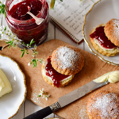 Scones anglais traditionnels