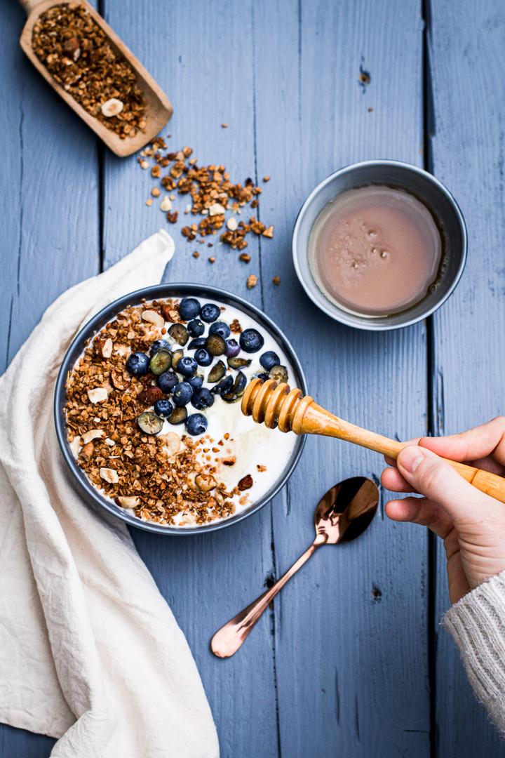 Bowl granola au kasha