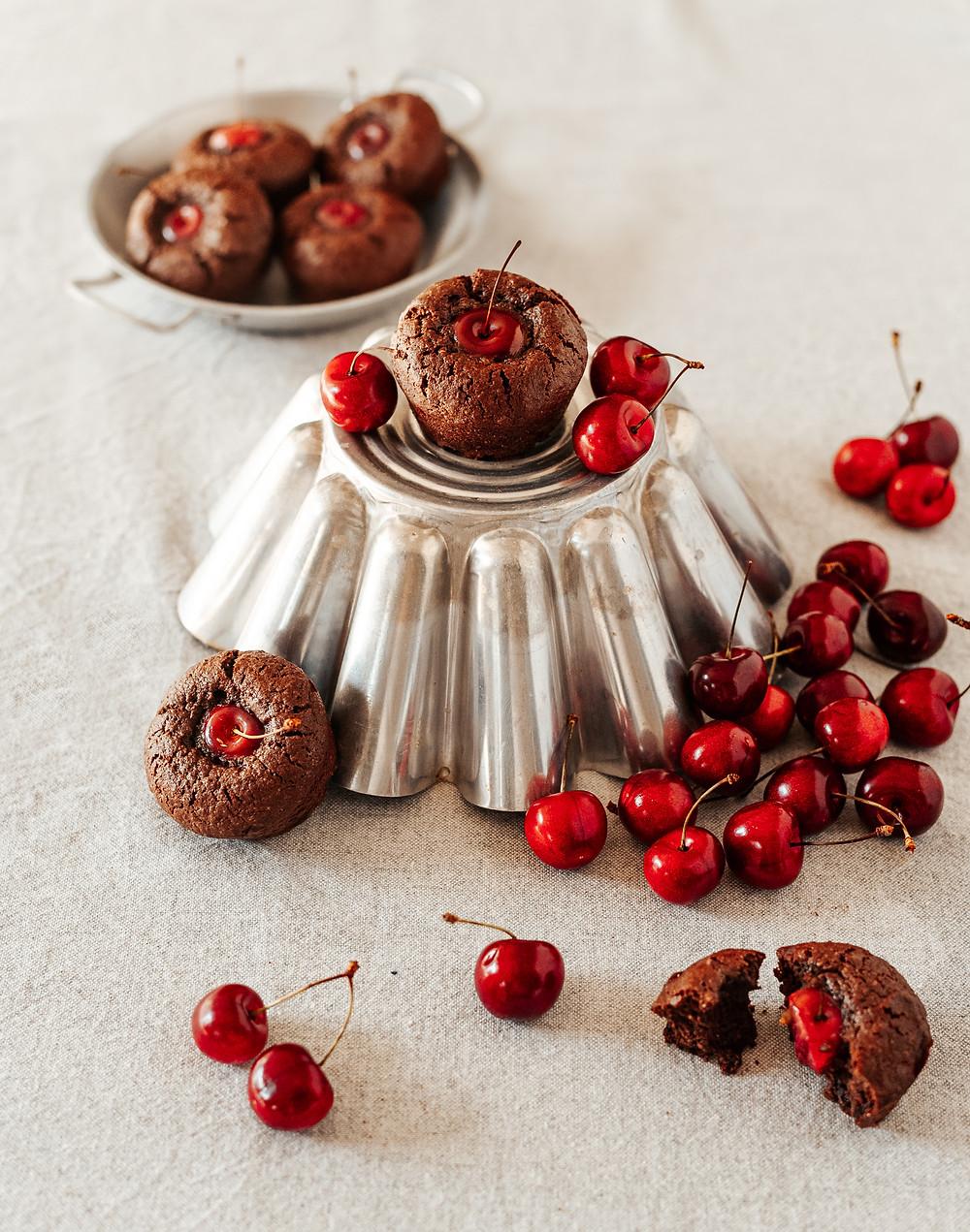 Moelleux chocolat cerise Cook'licot