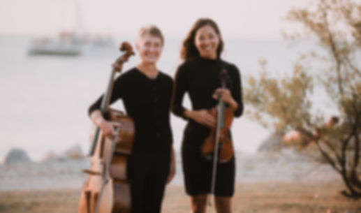 The Key West Duo, violin, cello, Key West wedding musicians, Florida Keys, Key West, Denise Nathanson, Irie Monte, violinist, cellist, chamber music, wedding music, Fort Zachary Taylor Park, Florida weddings