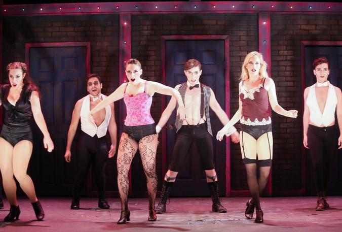 Cabaret at Stage Door Theatre, 2015