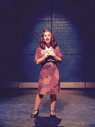 Annette in Saturday Night Fever at the Stage Door Theatre, 2017