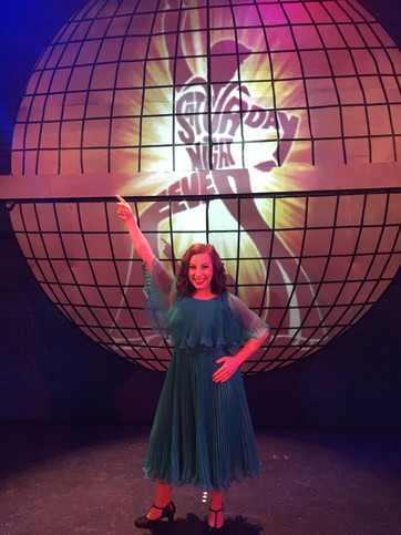 Annette in Saturday Night Fever at Stage Door Theatre, 2017