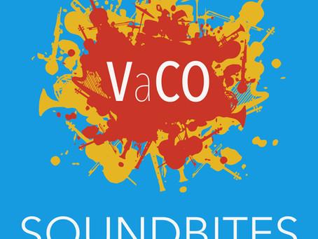 VaCO Soundbites!