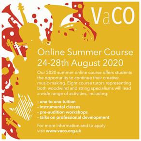 Online Summer Course