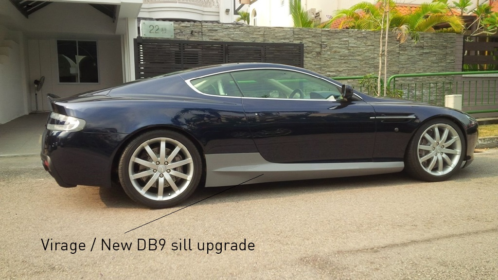 DB9 Sill upgrade