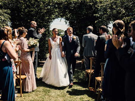 A petite Mid-Week Wedding For 30 This Summer