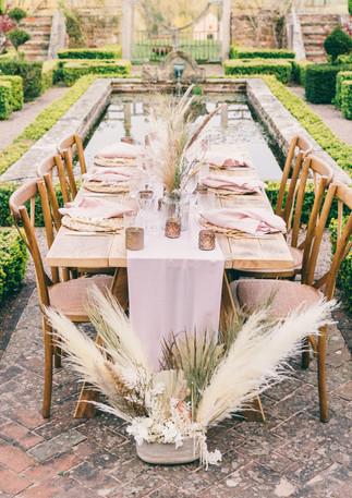 Tablescape Formal Garden