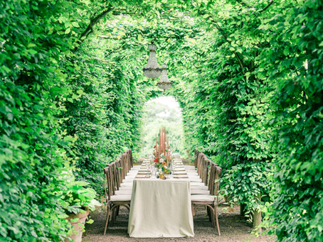 Micro Wedding Inspiration -  unique spaces for your wedding breakfast at Pauntley Court