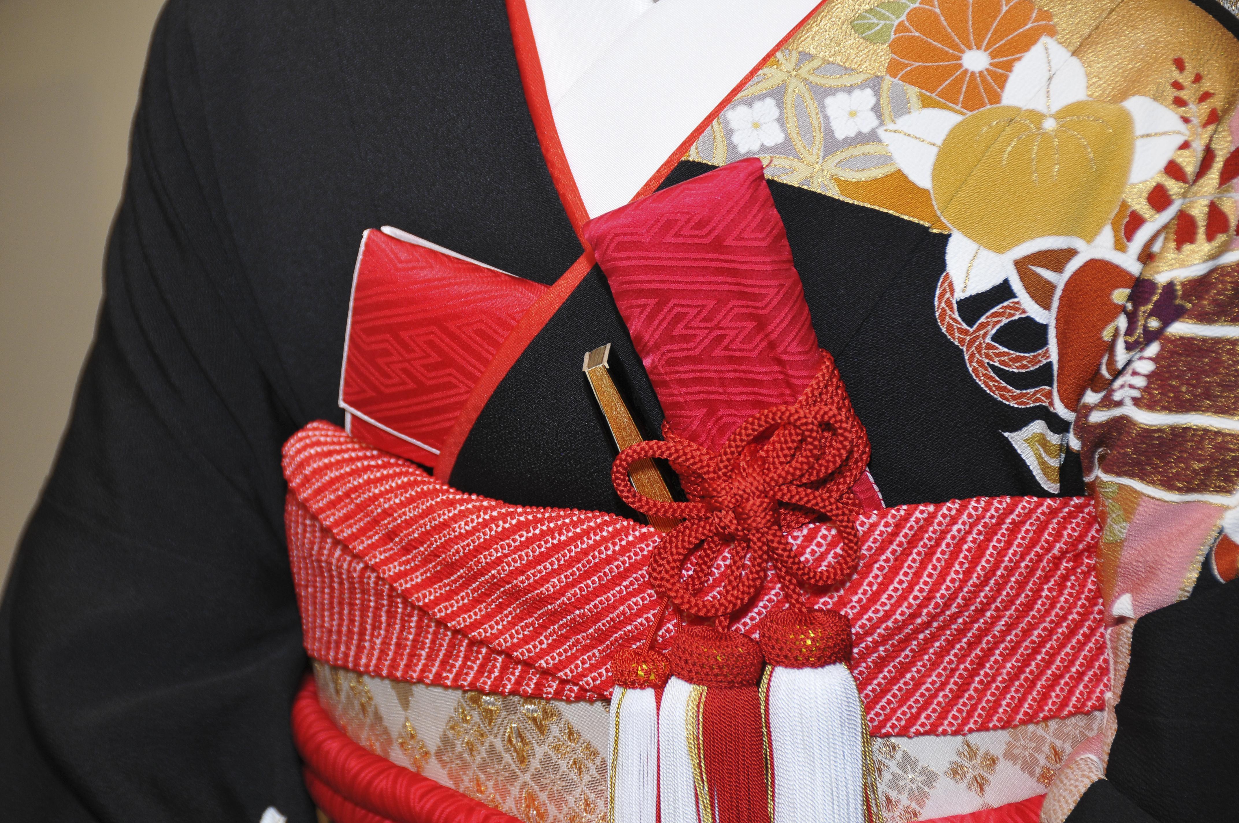 日本の伝統的な結婚式の布