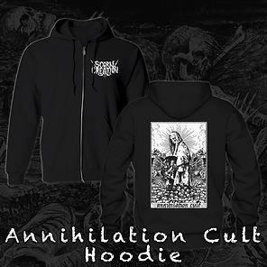 Scorn Of Creation Annihilation Cult hood