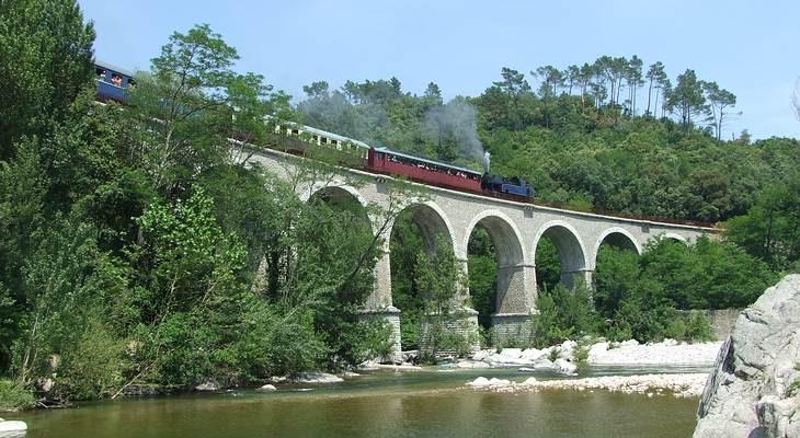 Steam train at Anduze