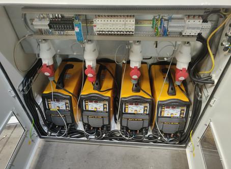 Renovácia poloautomatu na zváranie statorových plechov