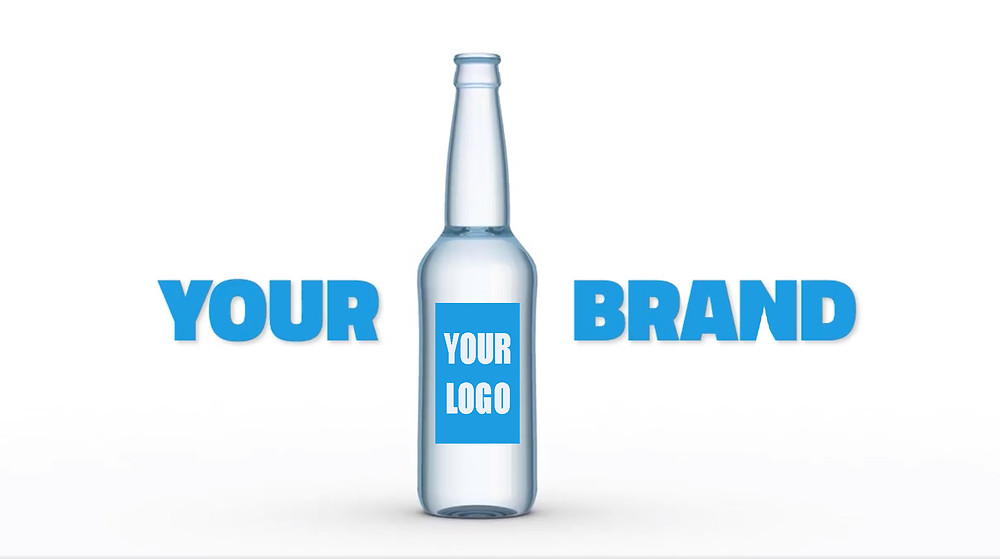 What better way to increase your company profile than with branded bottled water