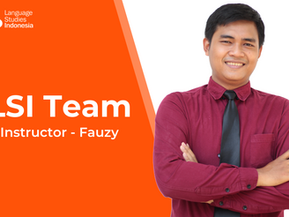 Meeting The LSI Team - Instructor – Bapak Fauzy