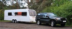 tourer-tek caravan towing services