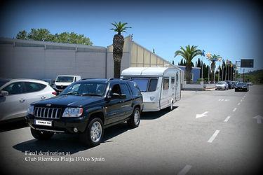 Tourer-Tek European caravan towig services, Towing all makes of caravans to all European Countries