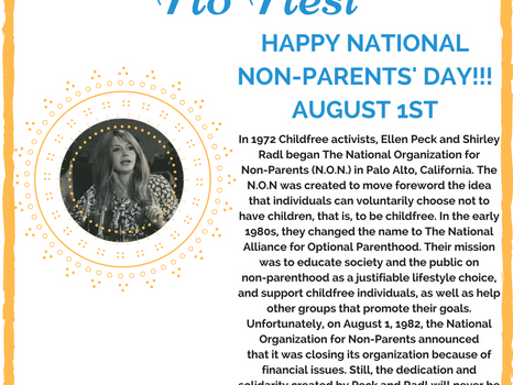 10 Ways to Celebrate International Childfree/Non-Parents' Day!