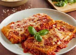 Parmesan Tofu & Tomato Sauce