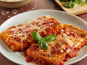 Đậu hũ Parmesan & sốt cà chua