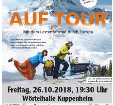 """2018 - """"Auf Tour"""" mit André Schumacher"""