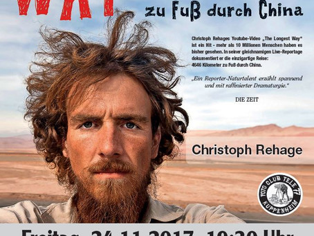 "2017 - ""The longest way"" mit Christoph Rehage"