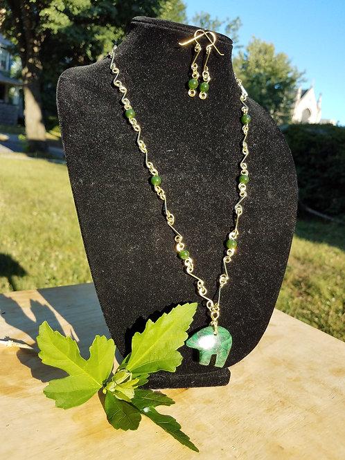Zuni Bear necklace