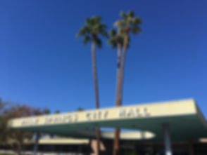 Palm Springs City Hall Sign.JPG