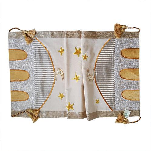 RAMADAN STARS EMBROIDERED TABLE RUNNER