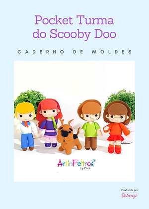 Caderno Moldes Pockets Scooby Doo
