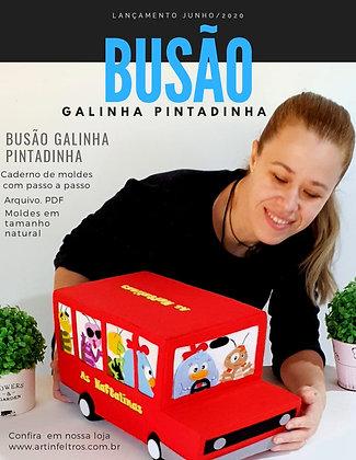 Caderno Moldes Busão Galinha Pintadinha