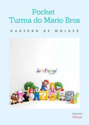 Caderno de Moldes Pockets Mario Bross