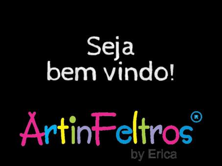 ArtinFeltros, uma História de amor pelo Artesanato!!!
