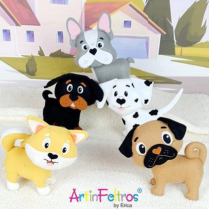 Apostila Cachorrinhos 3D Vol.1