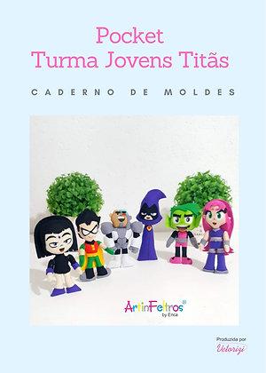 Caderno de Moldes Pocket Jovens Titãs