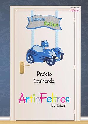 Apostila Guirlanda Heróis de Pijamas