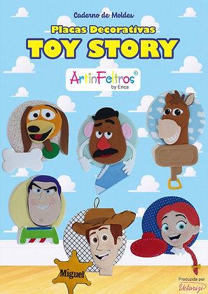 Caderno Moldes Placa Decorativa Toy Story