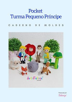 Caderno de Moldes Pocket Pequeno Príncipe