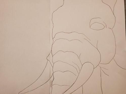 Elephant Template 2